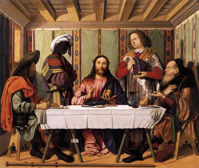Marco_Marziale_-_Supper_at_Emmaus 1506