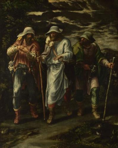 The Walk to Emmaus - Lelio Orsi