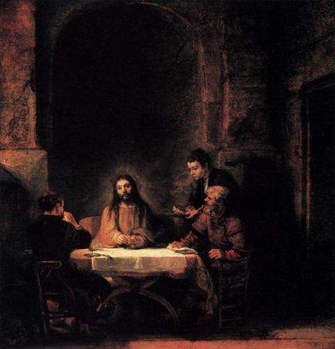 The Supper at Emmaus- Rembrandt